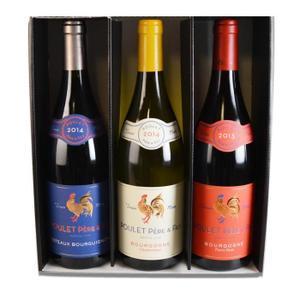 Coffret Bourgogne Bleu Blanc Rouge