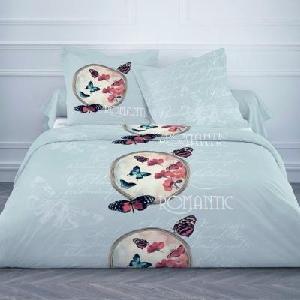 Parure de lit Papillons 220 x 240 cm