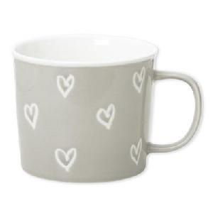 6 mugs Cœur 35 cl BRUNO EVRARD