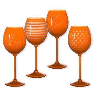 Ensemble de 4 verres à vin Quorus BRUNO EVRARD