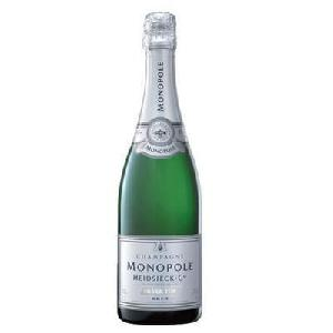 Bouteille Champagne Heidsieck Silver Top