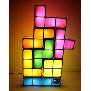 Lampe Tetris design