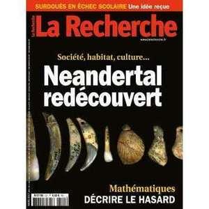 Magazine LA RECHERCHE
