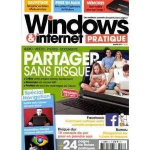 MAGAZINE WINDOWS ET INTERNET PRATIQUE