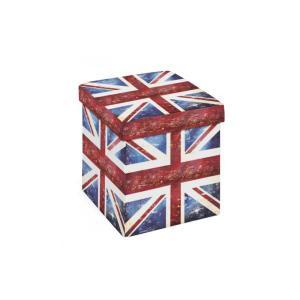 Boite De Rangement/Pouf UK Flag