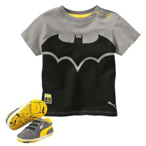 Ensemble tee shirt et baskets Batman PUMA
