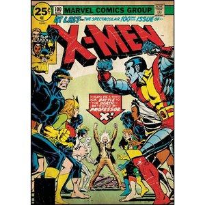 Sticker repositionnable X Men Comics