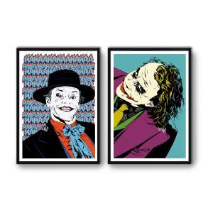 2 Affiches d'art Joker WALL EDITIONS